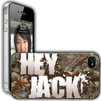 "Amazon.com: iPhone 4/4s Case - Duck Dynasty - ""Hey Jack"" - Clear Protective Hard Case: Cell Phones & Accessories"