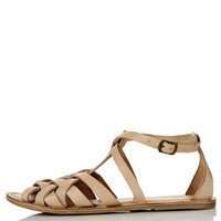HIPPY Woven Detail Sandals
