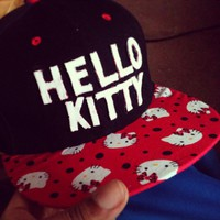 Custom Hello Kitty Snapback LE!