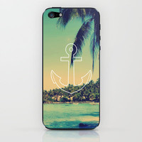 Vintage Summer Anchor iPhone &amp; iPod Skin by RexLambo | Society6