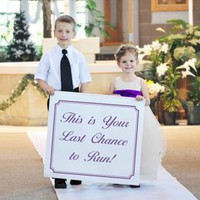 Celebrations Custom Wedding Banner