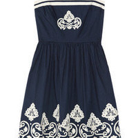 Collette by Collette Dinnigan|Embroidered cotton dress|NET-A-PORTER.COM