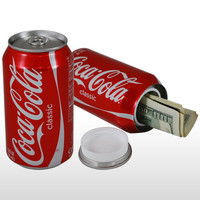 Coke Stash Can - Brand New Safe Hidden Secret Diversion Soda Can Coca Cola Safe