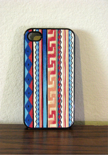 Iphone Case  Aztec Design for Iphone 4 and Iphone