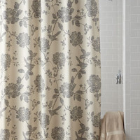 Bliss Bird Shower Curtain