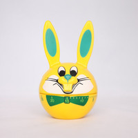 Cute yellow Easter bunny kitchen timer