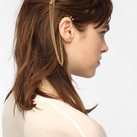 Spike Hair Comb Cuff Earring
