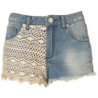 MOTO Crochet Hotpants - Topshop USA