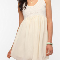 Urban Outfitters - One & Only x Urban Renewal Crochet Babydoll Dress