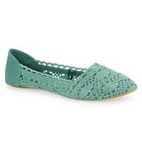 Charles Albert Crochet Flat
