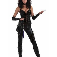 Sexy Womens Sexecutioner Catsuit Costume | Sexy Cat Suits Halloween Costumes