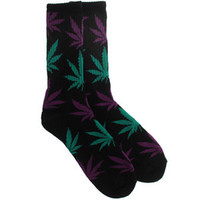 HUF Plantlife Socks - 420 Pack (black) Accessories HUFUG21PSKBLK | PickYourShoes.com