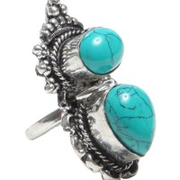 Turquoise Stone Ring - Rings - Jewelry | GYPSY WARRIOR
