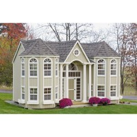 10 x 16 Grand Portico Mansion Panelized Kit