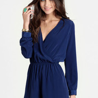 Everyday Luxury Romper in Royal Blue - $39.00 : ThreadSence, Women's Indie & Bohemian Clothing, Dresses, & Accessories
