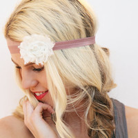 Flower Hairband Romantic Style Boho Trendy Headband