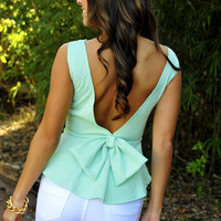 RESTOCK:Forever And Always Top: Mint Green | Hope's