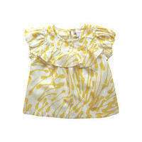 Girls Ruffle Blouse by Ismodern on Gilt