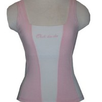 Amazon.com: Ooh La La Tank Top with Built in Shelf Bra: Clothing