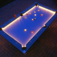Weatherproof Pool Table - OpulentItems.com