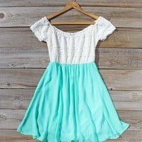 Luna Dress in Mint