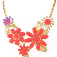 Floral Escape Necklace – Modeets.com