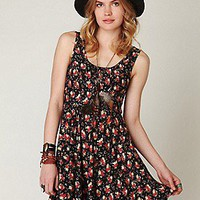 Free People  Floral Print Dress at Free People Clothing Boutique