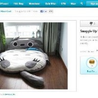 Big Huge Cute 2012 Models 230cm Totoro Bed Sleeping Bag Sofa Christmas Gift Kid: Home & Kitchen
