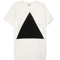 Triangle Pocket Tee - White | rag & bone Official Store
