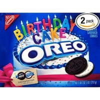 Oreo 100th Birthday Cake Cookies (Pack of 2): Grocery &amp; Gourmet Food