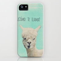 ¿Cómo Te Llama? iPhone Case by M✿nika  Strigel	 | Society6