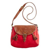 The Tassel Satchel - bags - Women&#x27;s ACCESSORIES - Madewell