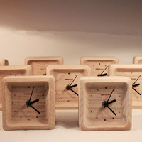 INFMETRY:: Wood Clock - Clock - Home&Decor