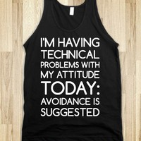 Technical Problems - Text First