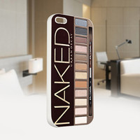 Naked Palette - Girly Make Up - Photo on Hard Cover For Iphone 4/4S Case, iPhone 5 Case - Black, White, Clear