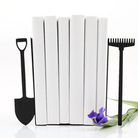 Bookends -Shovel and rake- laser cut for precision these bookends will hold your favorite cookbooks