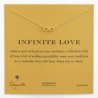 Dogeared &#x27;Infinite Love&#x27; Reminder Pendant Necklace | Nordstrom