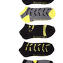 DC Comics Batman Keep Calm No-Show Socks 5 Pair - 171703