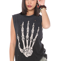 UNIF The Skullhand Tee in Black : Karmaloop.com - Global Concrete Culture