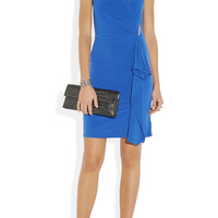 MICHAEL Michael Kors|Draped stretch-jersey dress|NET-A-PORTER.COM