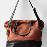 Baltimore Colorblocked Bag - $49.00 : ThreadSence, Women's Indie & Bohemian Clothing, Dresses, & Accessories