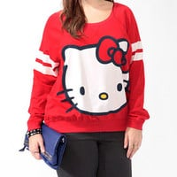 Hello Kitty Athletic Raglan Top