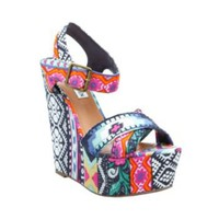 Winonna - Women&#x27;s Colorful 5 Inch Wedge Heels by Steve Madden