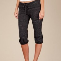 Eco-Heather Cropped Pants