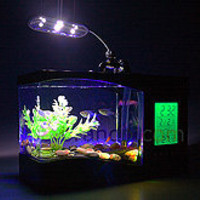 All about USB | USB 3.0, USB Gaming, USB Lifestyle | Brando Workshop : USB Aquarium with Alarm Clock and Thermometer