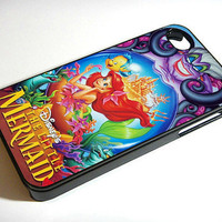Ariel The Little Mermaid  Disney - iPhone 4 / iPhone 4S / iPhone 5 Case Cover 451K