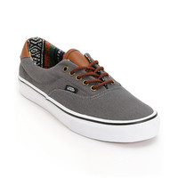Vans Era 59 Charcoal &amp; Guate Canvas Shoe
