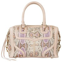 Rebecca Minkoff M.A.B. Mini Bombe Purple Multi