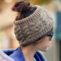Fashion Woolen Hair Band for Woman