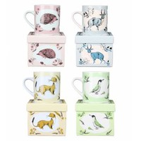 Buy Set of Fauna Creatures Mugs